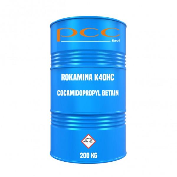 ROKAmina K40HC (Cocamidopropyl Betaine) - Fass 200 kg | PCC Exol SA