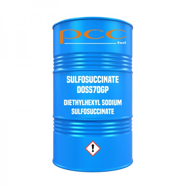 SULFOSUCCINATE DOSS70GP (Diethylhexyl Sodium Sulfosuccinate) - Fass
