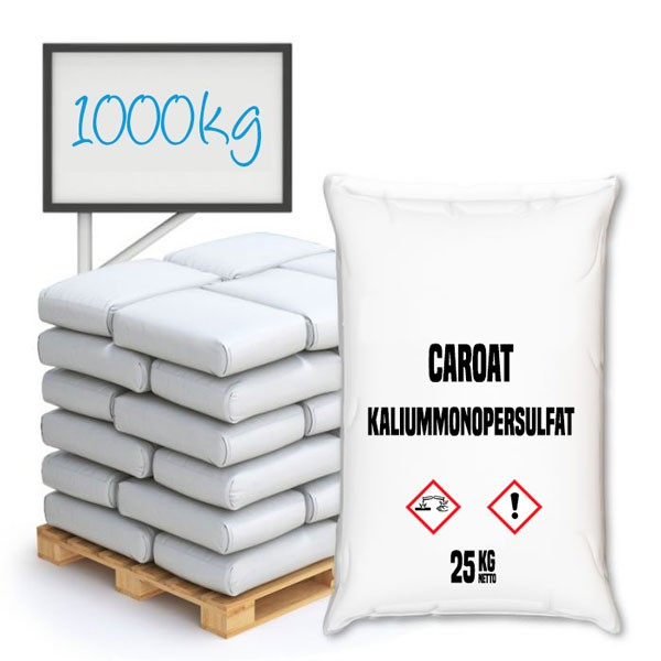 CAROAT® (Kaliummonopersulfat; KMPS; Kaliumperoxomonosulfat) - Palette