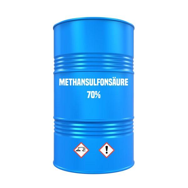 Methansulfonsaeure 70% (MSA; Methylsulfonsaeure; MSS) - Fass